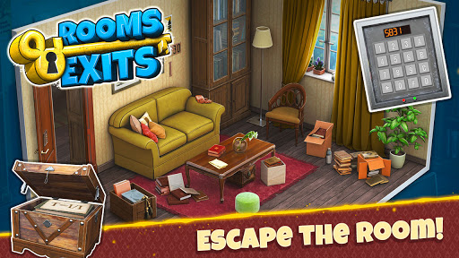 Rooms & Exits - Escape Games apkslow screenshots 6