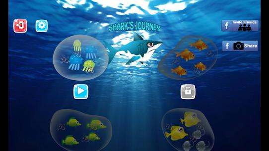 Shark Journey: Hungry Big Fish Eat Small and grow 7