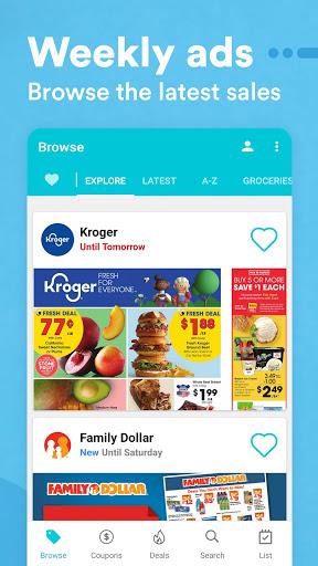 Flipp - Weekly Shopping modavailable screenshots 3