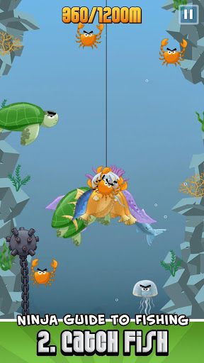 Ninja Fishing apkpoly screenshots 3