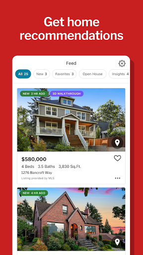 Redfin Real Estate: Search & Find Homes for Sale apktram screenshots 5