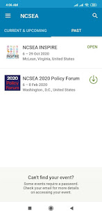 NCSEA Conferences & Events 5.73.2 screenshots 1