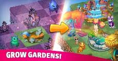 Merge Cats: Magic merging, garden renovation gamesのおすすめ画像2