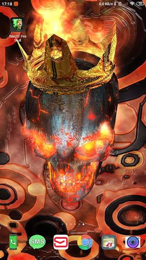 Skull wallpaper 1.6.9.79 screenshots 2