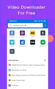 HOT Video Downloader: private download video saver 1