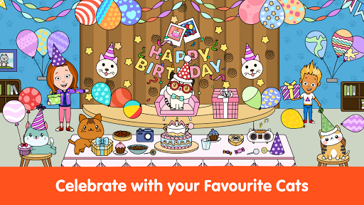 My Cat Townud83dude38 - Free Pet Games for Girls & Boys android2mod screenshots 7