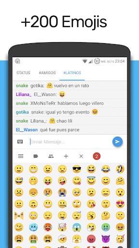 Latin Chat - Chat Latino modavailable screenshots 3