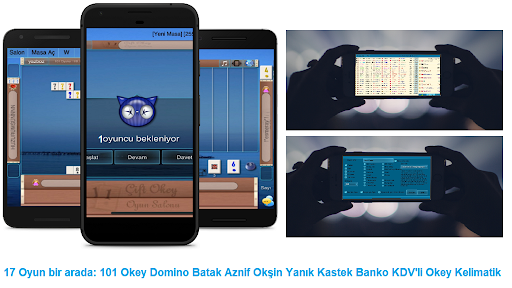 101 Okey Domino batak hakkarim.net yüzbir ve okşin  screenshots 1