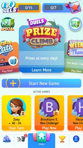 Scrabbleu00ae GO - New Word Game Apkfinish screenshots 5