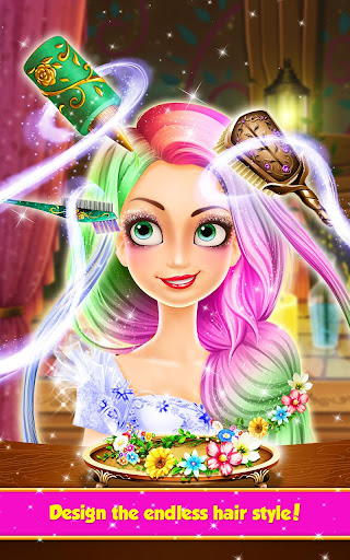 Long Hair Princess Hair Salon 1.8 screenshots 3