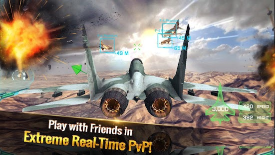 Ace Fighter: Luftkampf Screenshot