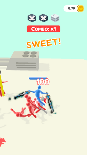Jelly Fighter: Color candy & stickman games 0.7.0 screenshots 8