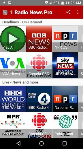 1 Radio News Pro For PC Windows (7, 8, 10, 10X) & Mac Computer Image Number- 5