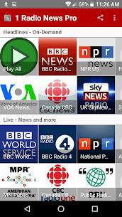 1 Radio News Pro APK 1