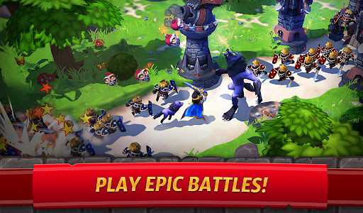 Royal Revolt 2: Tower Defense RTS & Castle Builder apkslow screenshots 17