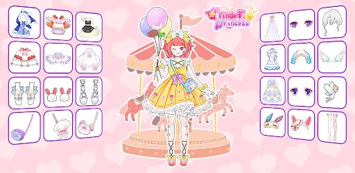 Vlinder Princess - Dress Up Games, Avatar Fairy 1.3.3 screenshots 15