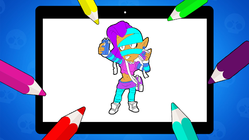Coloring Pages for Brawl BS  screenshots 15