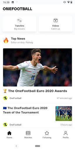 OneFootball - Soccer News, Scores & Stats  screenshots 1