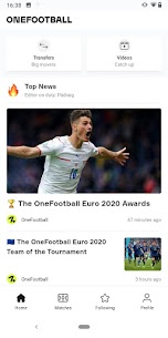 Free OneFootball – Soccer News, Scores  Stats 1
