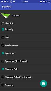 XPOSED Sensor Disabler Screenshot