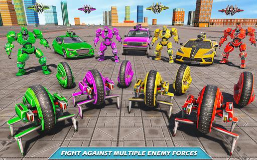Drone Robot Car Driving - Spider Wheel Robot Game  screenshots 12