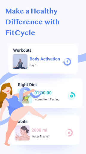 Foto do FitCycle - Weight Loss Workouts & Fitness Habits
