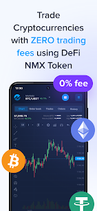 Nominex: Cryptocurrency trading without commission For Android 1