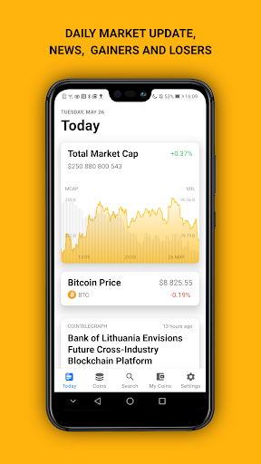 COINS: One App For Crypto by Coinpaprika  screenshots 2