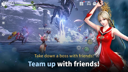 Blade & Soul Revolution (MOD, Unlimited Money) For Android 4