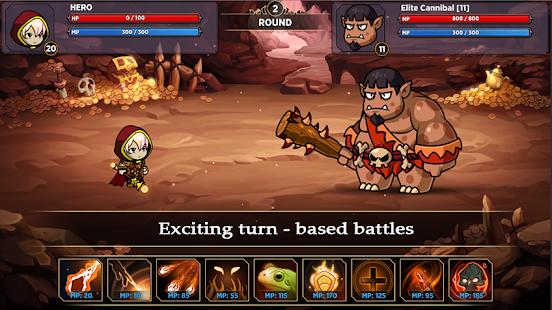 Hariotica: RPG adventure games turn based strategy 1.00.8 screenshots 1