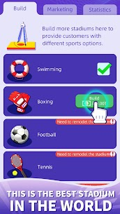 Idle GYM Sports APK + MOD (Unlimited Money) 5