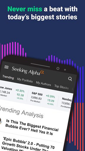 Foto do Seeking Alpha: Stock Market News & Analysis