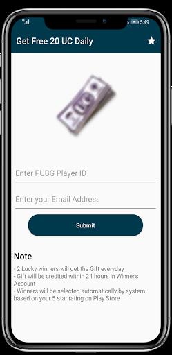Free UC and Free Royal Pass  Screenshots 3