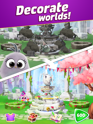 Angry Birds Match 3 4.5.1 screenshots 9