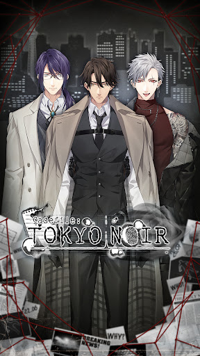 Casefile: Tokyo Noir - Otome Romance Game androidhappy screenshots 1