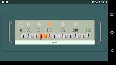 新幹線っぽい速度計のおすすめ画像1