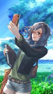 Lovely Anime Girl APUS Live Wallpaper