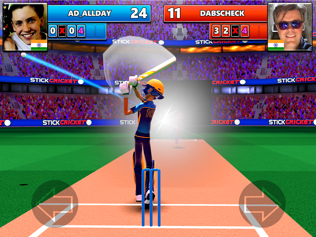 Stick Cricket Live 21 - Play 1v1 Cricket Games poster 8