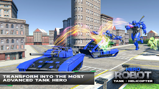 Tank Robot Transform Wars - Multi Robot Game  screenshots 5