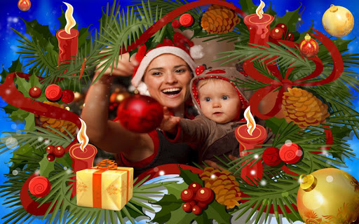Christmas Photo Frames For PC Windows (7, 8, 10, 10X) & Mac Computer Image Number- 12