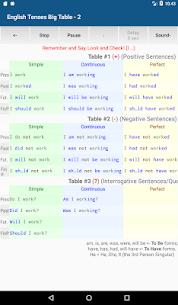 English Tenses 3.1 Apk 5