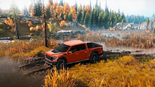Offroad Car Driving 4x4 Jeep Car Racing Games 2021  screenshots 1