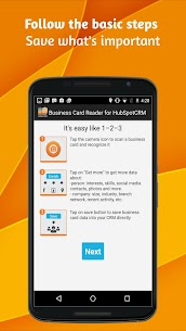 Business Card Reader for HubSpot CRM by M1MW 1.1.158 MOD for Android 1