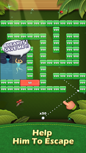 Breaker Fun - Bricks Ball Crusher Rescue Game  screenshots 8