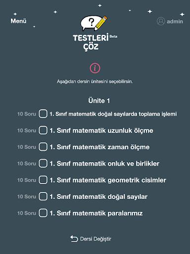 Testleri u00c7u00f6z 0.4.4 Screenshots 10