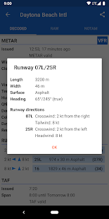 Avia Weather - METAR & TAF 2.12.6 Screenshots 8