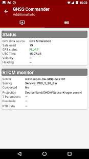 PPM Commander - GPS status Screenshot