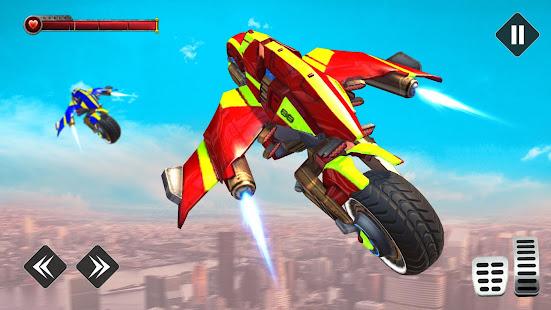 light bike flying stunts hack