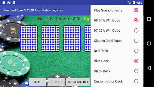 Five Card Draw Poker  screenshots 2