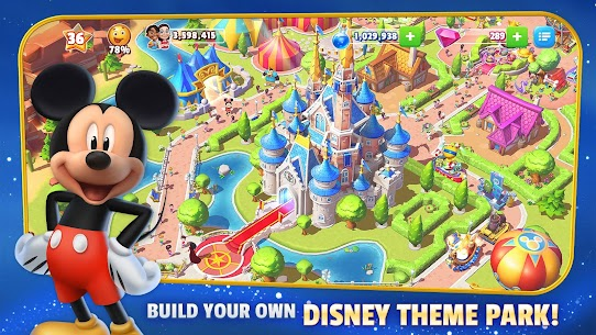 Disney Magic Kingdoms MOD APK (Unlimited Money Gems) 6.1.0l for android 1
